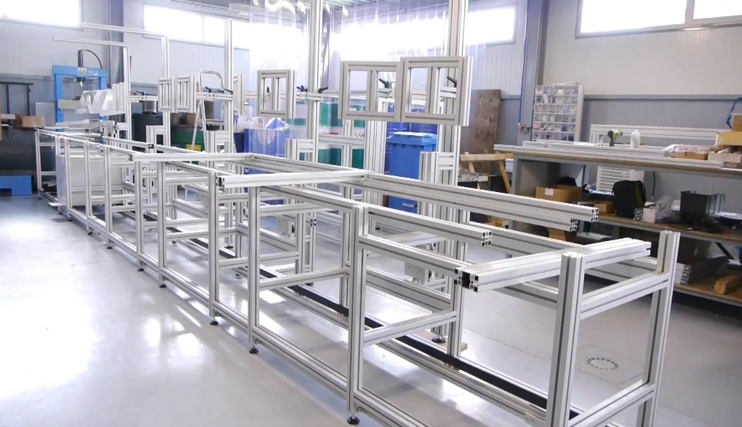 Biaut - Perfis de Alumínio e Estruturas Industriais